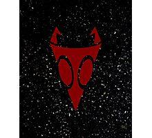Irken Military Symbol (Red) Photographic Print
