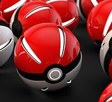 Pokeball Case by Dogerex