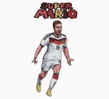 super Mario by Ben Farr