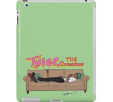 Tyler, The Creator on a couch iPad Case/Skin