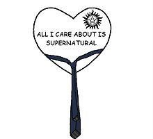 All I Care About Is Supernatural by TopHatPanda