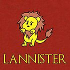 Game of Thrones - House Lannister Sigil by charsheee