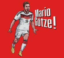 Mario Götze! by Ben Farr