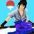 Sasuke Uchiha by quinncinati