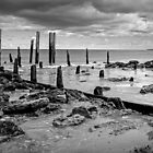Old Port Willunga Jetty by Dennis Wetherley