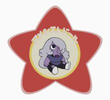 Amethyst Gem Doll Sticker by gkraft