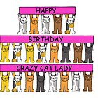 Crazy Cat Lady by KateTaylor
