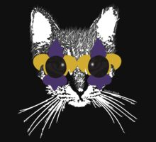 Purple and Gold Pardi Animal (Without the crown and words) by StudioBlack