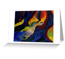 Dead Forest Greeting Card