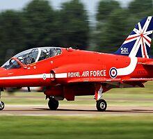 Red Arrows T1 Hawk by PhilEAF92