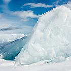 Ice and Blue Skies by April Koehler