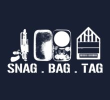 Snag Bag Tag - WAREHOUSE 13 by Elowrey