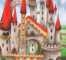 The Red Queen's Castle (Moatless) by ImogenSmid