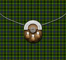 Clan Stewart Hunting Tartan And Sporran by thecelticflame