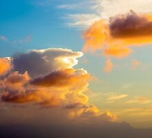 Sunset Sky 1 by Leigh Anne Meeks