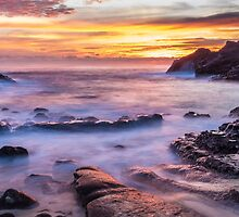 Halona Cove Sunrise 3 by Leigh Anne Meeks