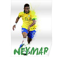 Neymar Jnr Poster