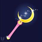 VECTOR MOON - anime Moon Stick by Hybryda
