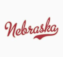 Nebraska Script Red by carolinaswagger