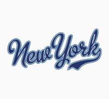 New York Script Blue by carolinaswagger
