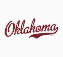 Oklahoma Script VINTAGE Garnet by Carolina Swagger