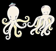 Octopus Couple by kwg2200