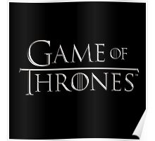 Game of Thrones Logo Poster