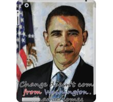 Change in Washington iPad Case/Skin