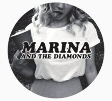 Marina and the Diamonds Circular Cut Logo by reibaka