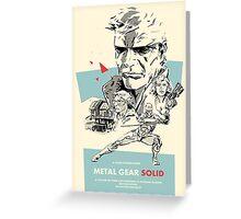 Meta Gear Solid Greeting Card