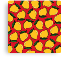 Mango - Red Canvas Print