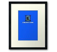 Energy Tank Framed Print