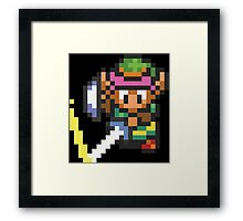 A Link To The Past Framed Print