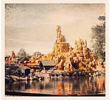 Big Thunder Mountain Photographic Print