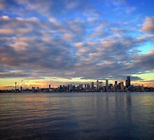 Seattle Skyline by Mariah Heath