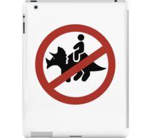 No Fun iPad Case/Skin