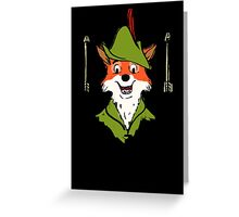 Robin Hood Greeting Card