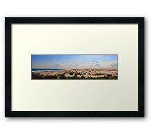 Anna Bay - Beach and Dunes Panorama Framed Print