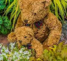 Floral Bear Hug by Alec Owen-Evans