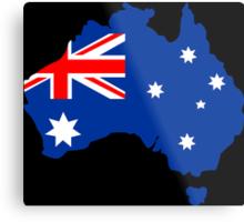 Map of Australia Metal Print