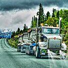 Gravel Truck by Skye Ryan-Evans