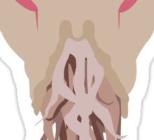 The Face of Ood Sticker