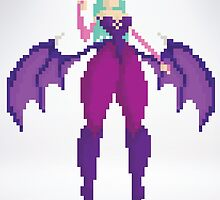 Morrigan Aensland by izaksmells