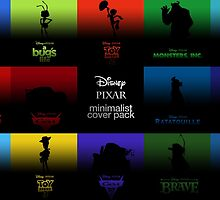 Disney Pixar by andrewshunt