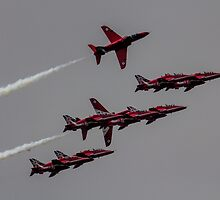 The Red Arrows by J Biggadike