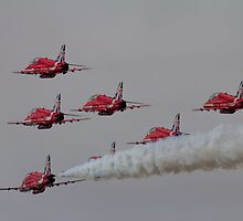 Red Arrows by James Biggadike