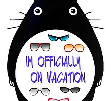 Totoro in vacation by Orientale