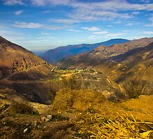 Way Up In The Ecuadorian Andes by Al Bourassa