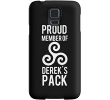 PROUD MEMBER OF DEREK'S PACK Samsung Galaxy Case/Skin