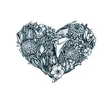Gothic heart by Mistra